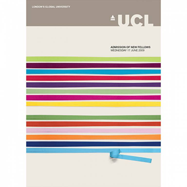 UCL Fellows inauguration publication