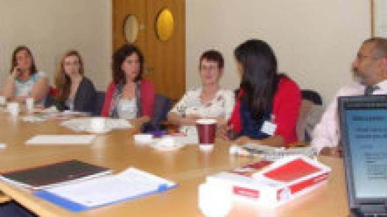 A focus group at UCL