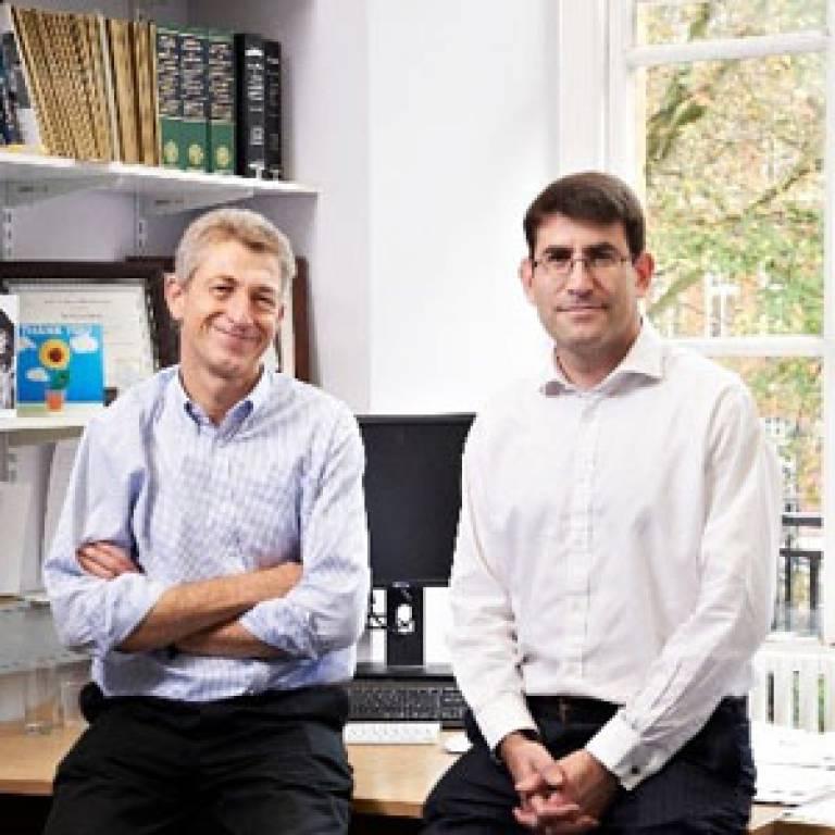Professor Nick Fox and Dr Jonathan Schott