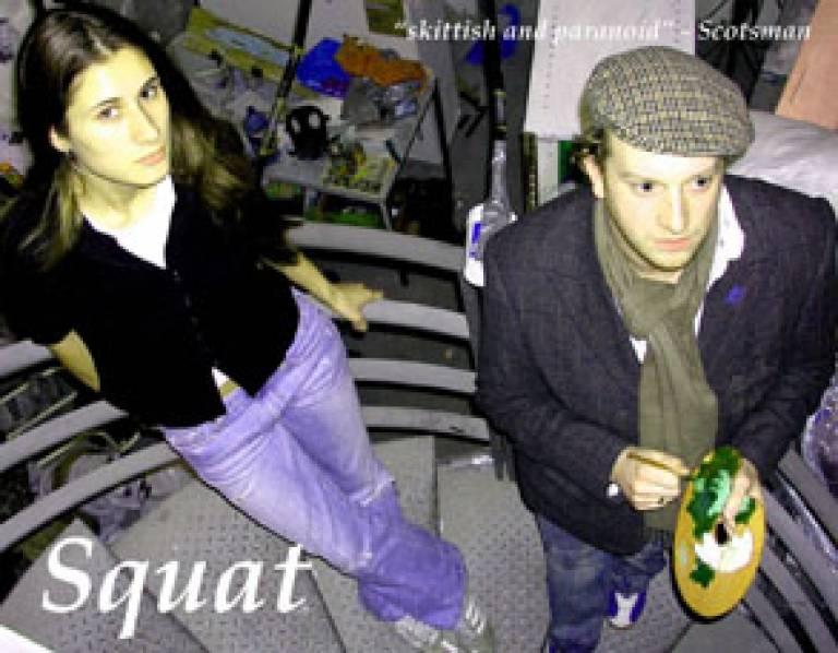 Tiffany Freisberg and Ian Lilley in 'Squat'