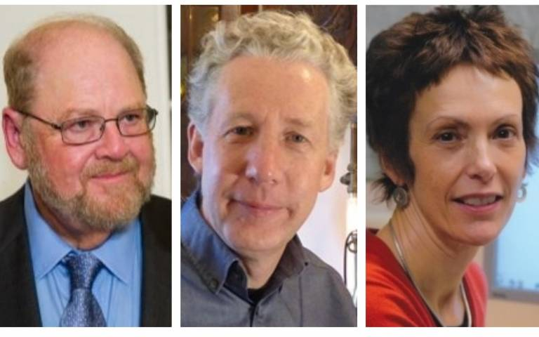 Christine Orengo, James Rothman, Mark Handley
