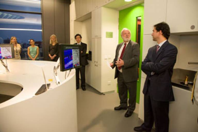 Funders at the Bill Lyson Informatics Centre