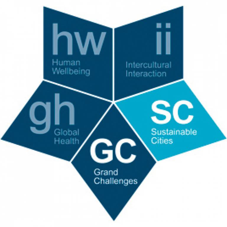 Grand Challenge of Sustainable Cities marque