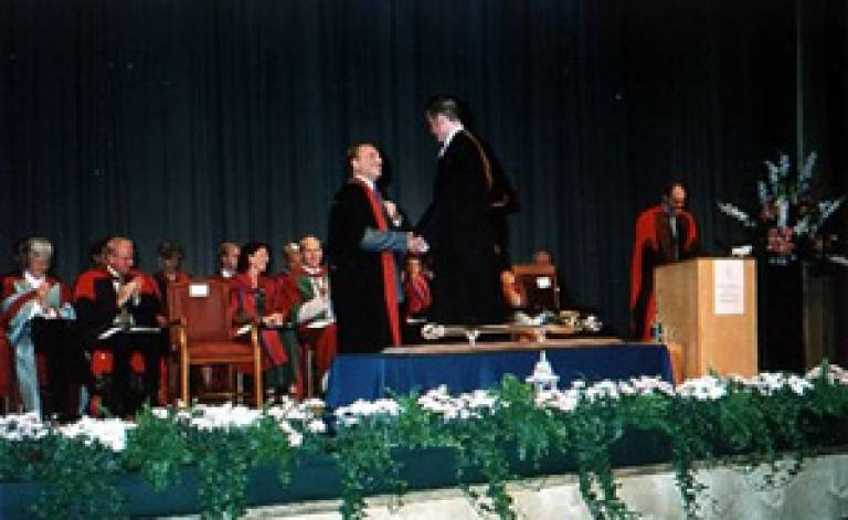 UCL's graduation ceremony