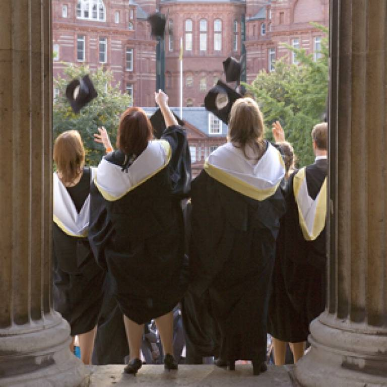 UCL students celebrate graduation