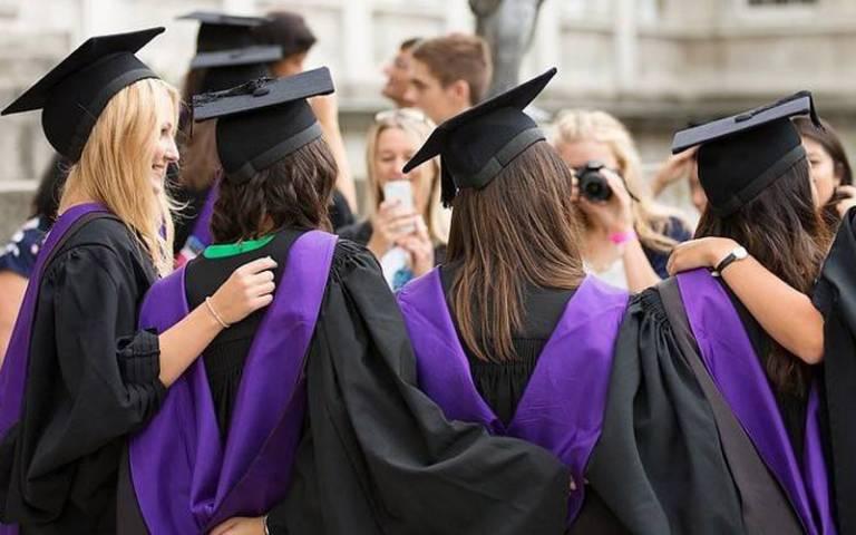 UCL graduating students