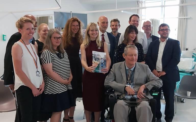 Baroness Nicola Blackwood visit