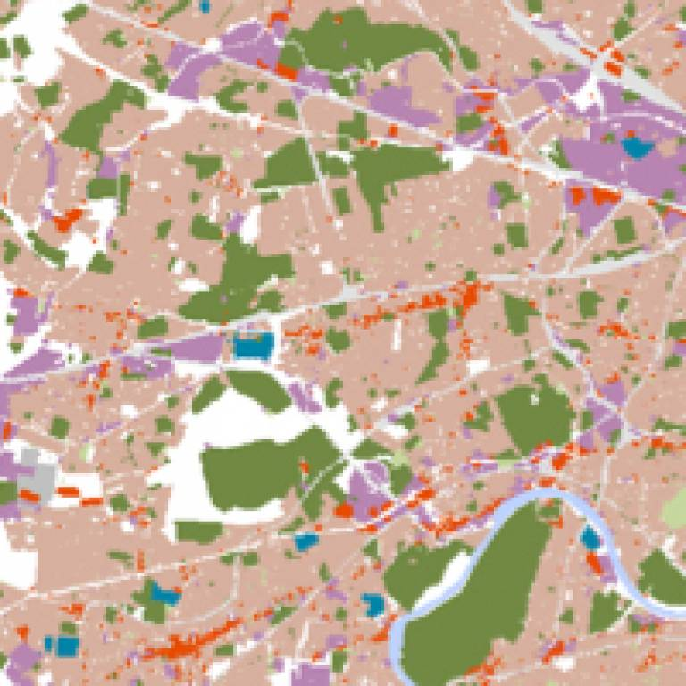 Detail from the West London growth model