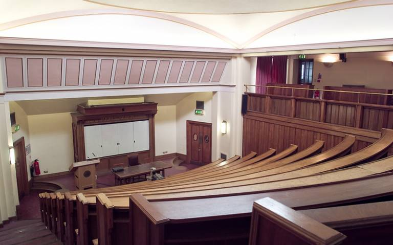 The Gustave Tuck Lecture Theatre