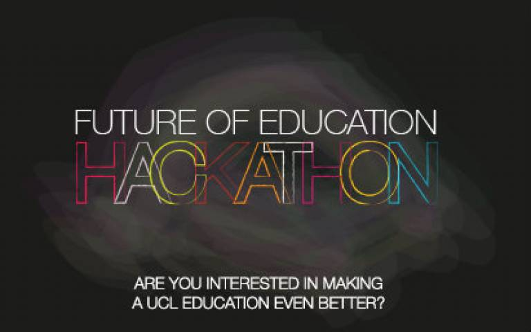 UCL future of education hackathon: what did students say?