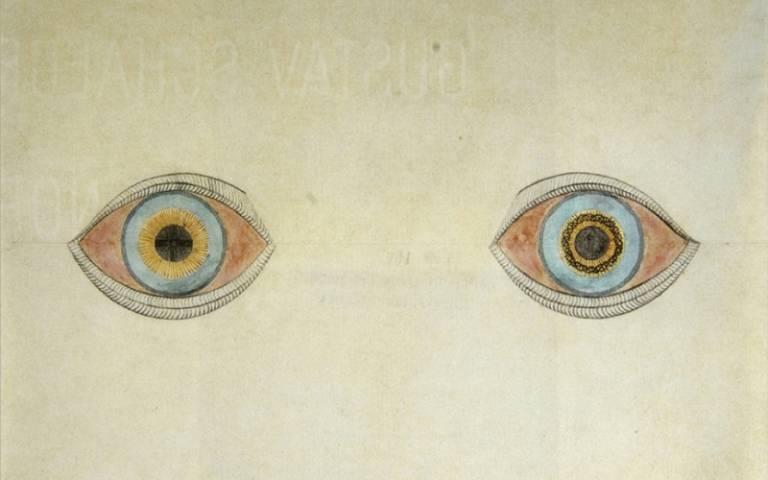 August Natterer artwork representing hallucinations