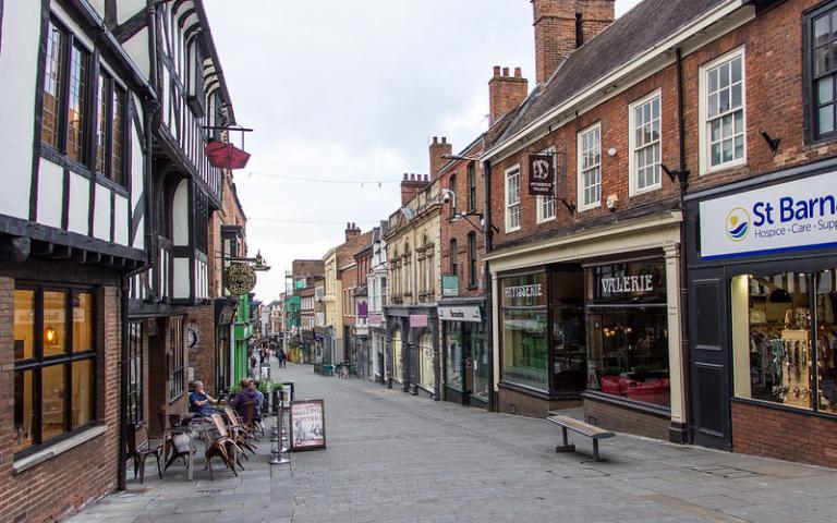 High Street, Lincoln, England