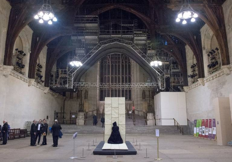 House of Doors in Westminster Hall