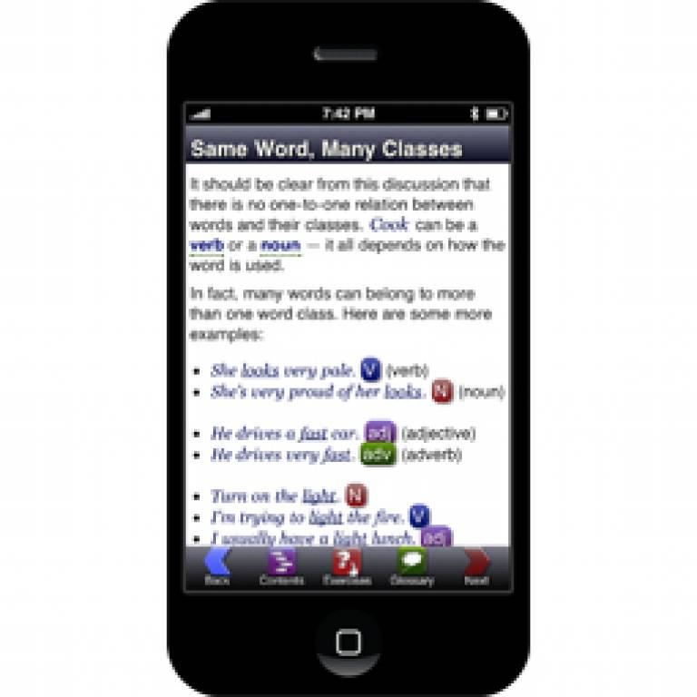 iGE App screen shot