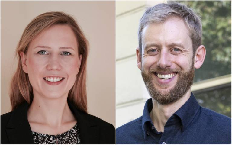Julia Kreienkamp and Dr Tom Pegram