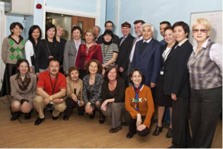 Kazakh students