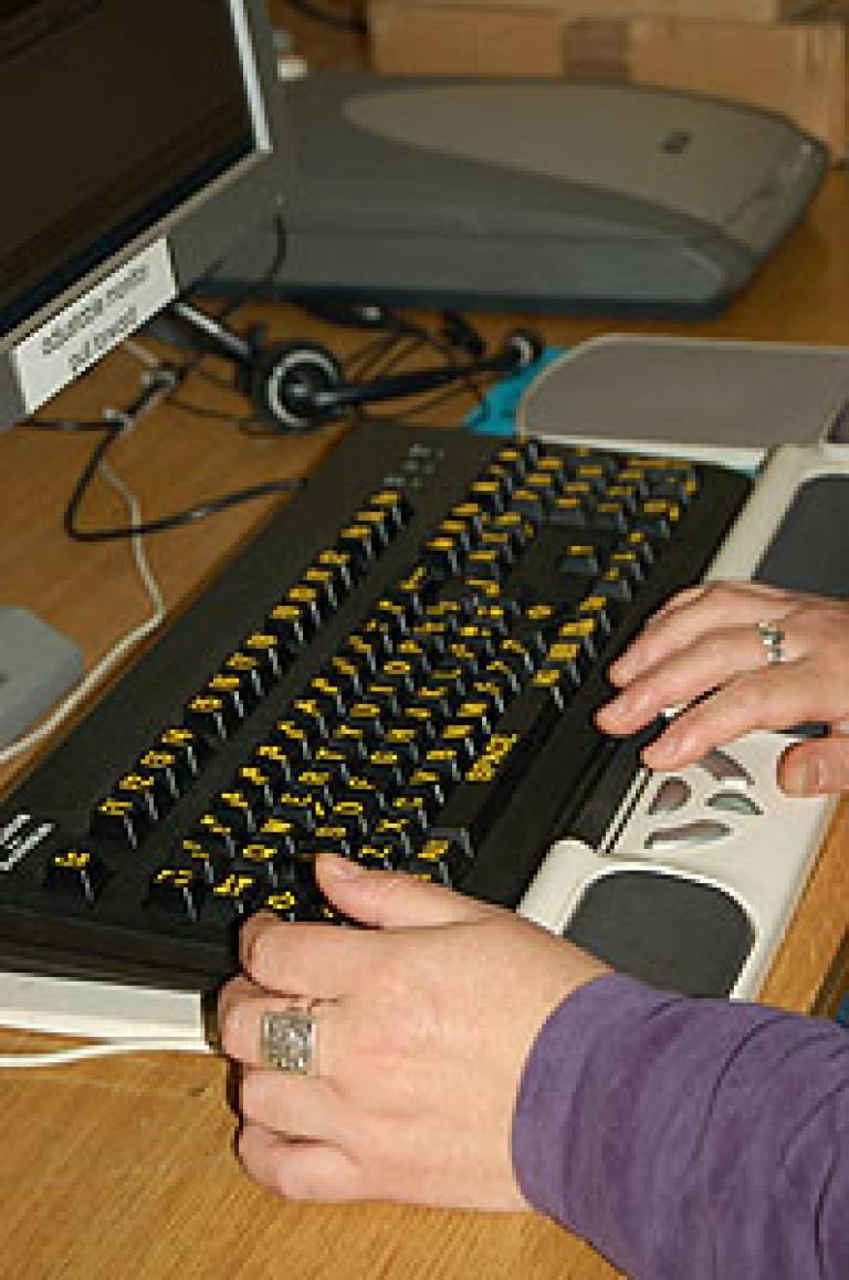 A modified keyboard