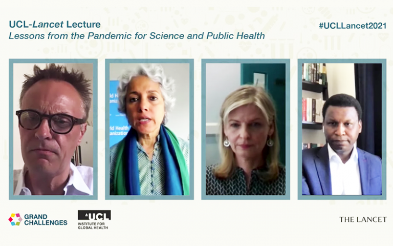 An image of the Lancet Lecture panel