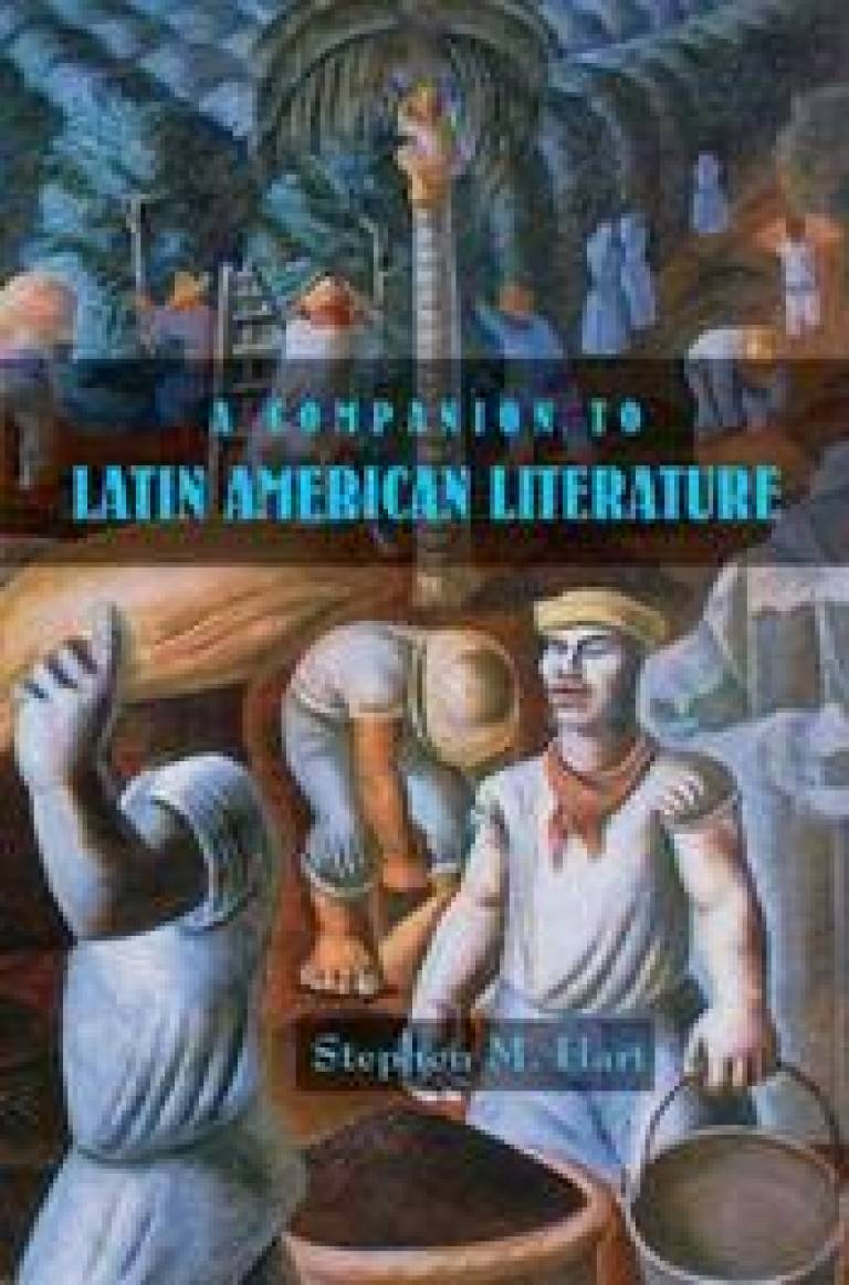 Dust jacket of 'A Companion to Latin American Literature'