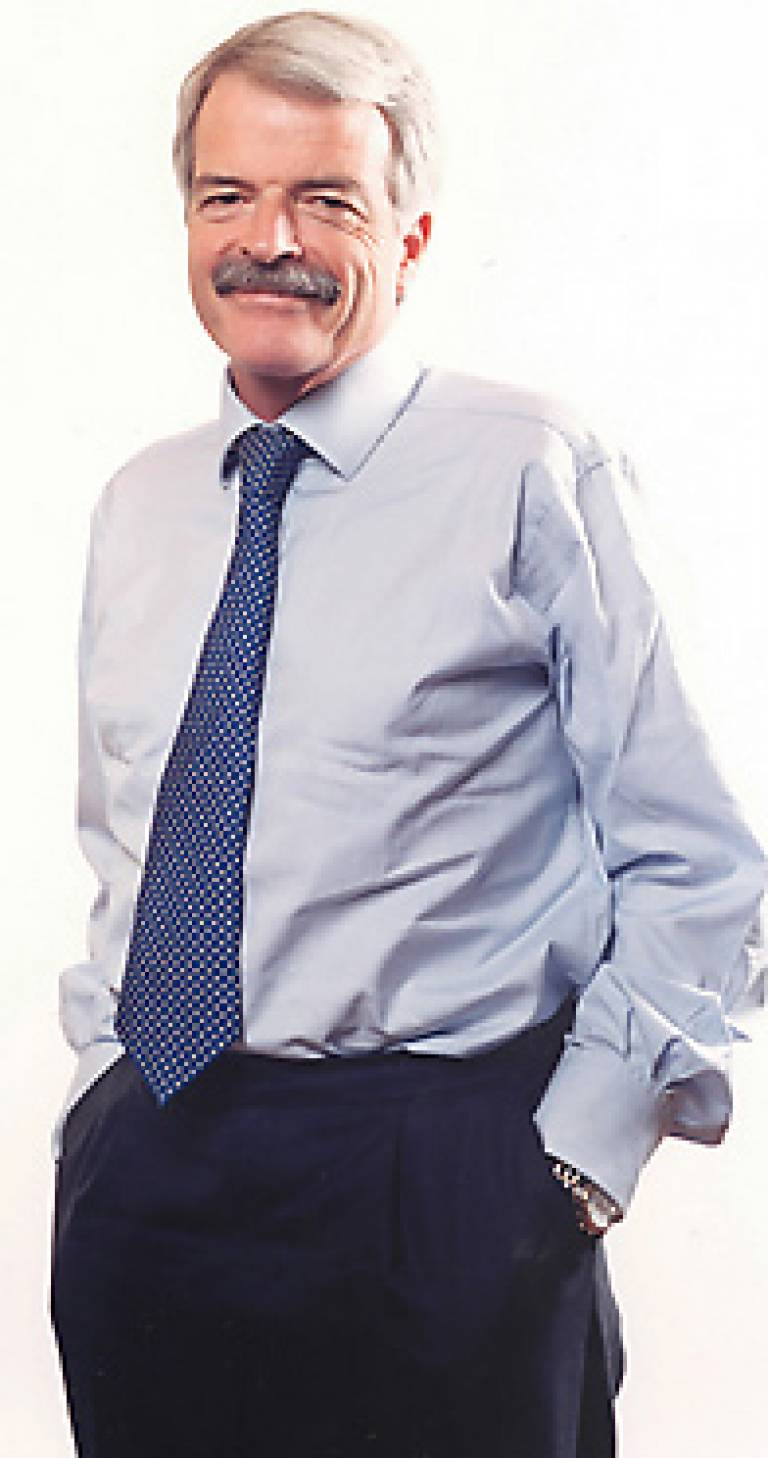 Professor Malcolm Grant, President and Provost of UCL