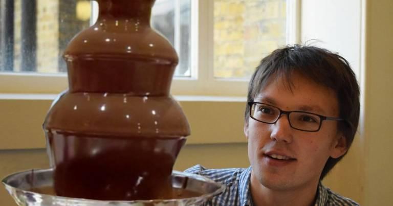 Mathematics student Adam Townsend