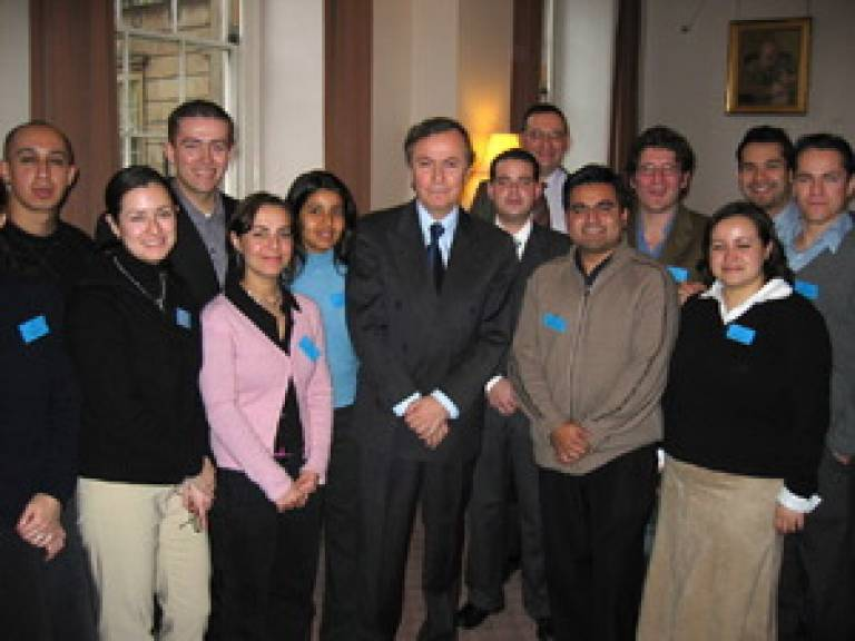 The Mexican Ambassador on his visit to UCL