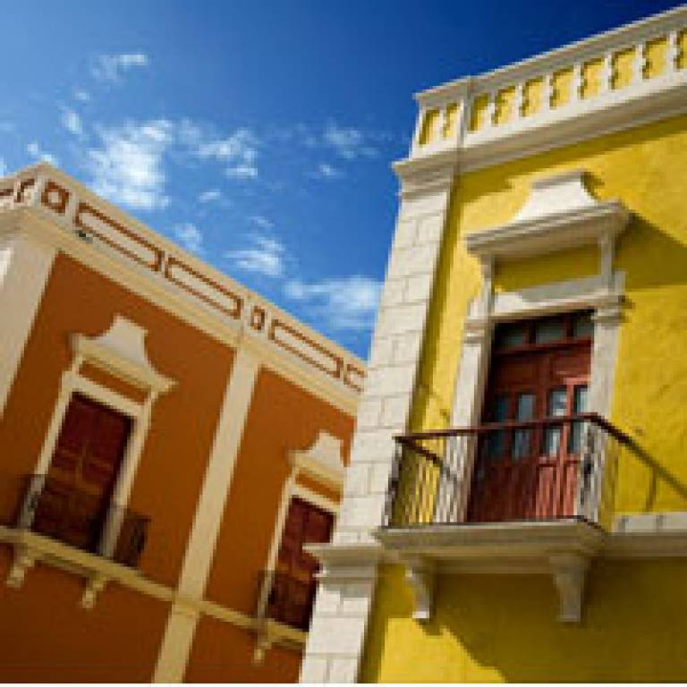 Palaces in Campeche, Mexico
