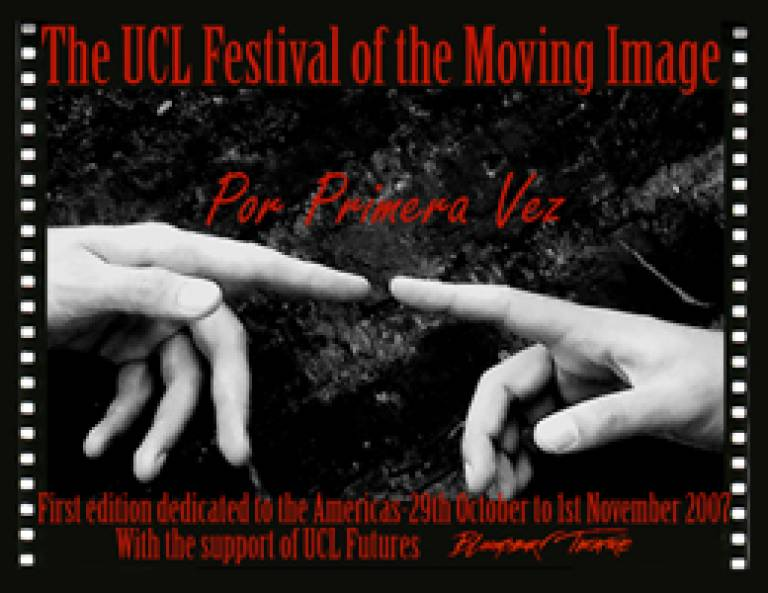 The UCL Festival of the Moving Image logo