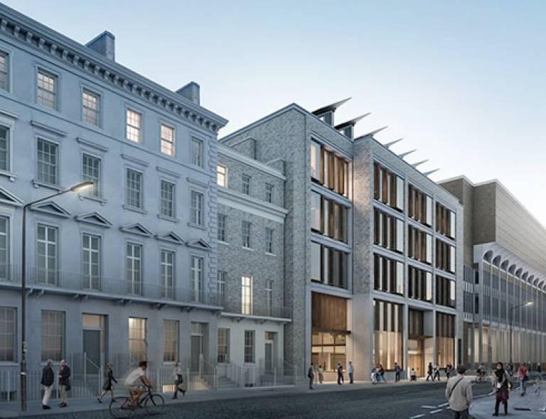 New Student Centre, Gordon Street view