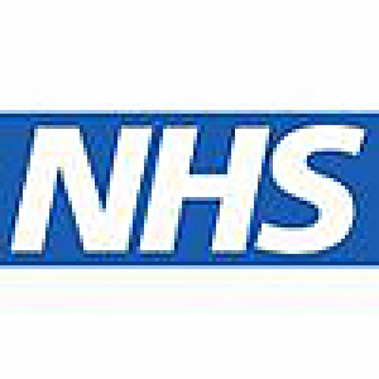 The logo of the National Health Service