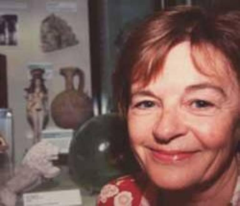 Dr Paulette McManus coordinates the student exhibitions