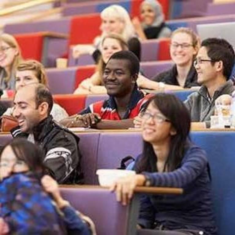 UCL postgraduate students