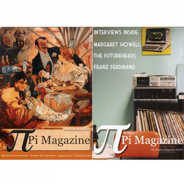 Covers of 2009 Pi Magazine