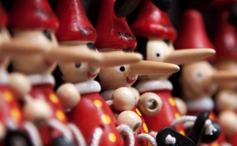Pinocchio puppets