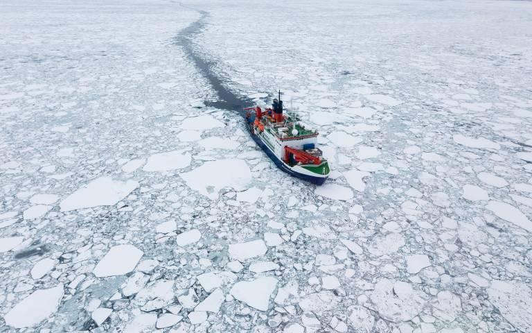 Polarstern in the Arctic Ocean