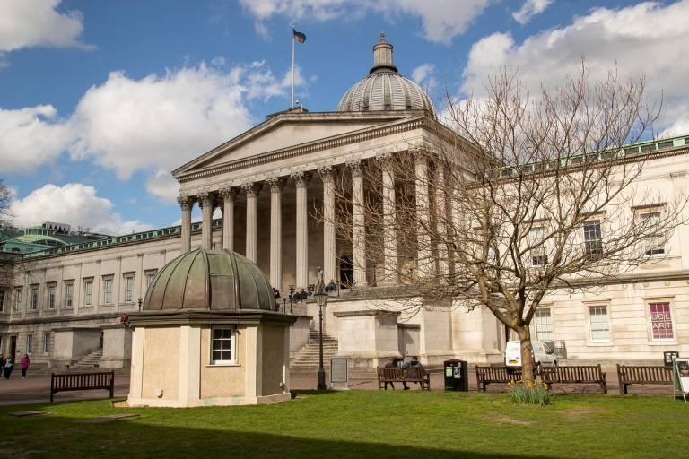 UCl portico-quad-side-view