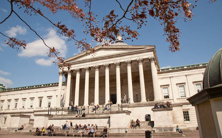 UCL's main Quad and Portico building