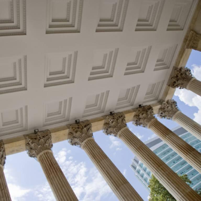 UCL portico