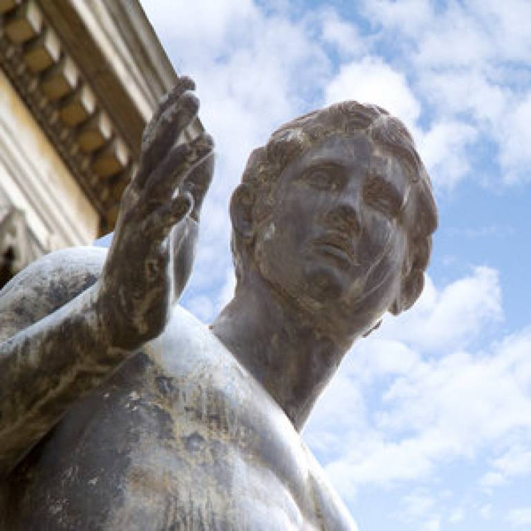 Portico Statue