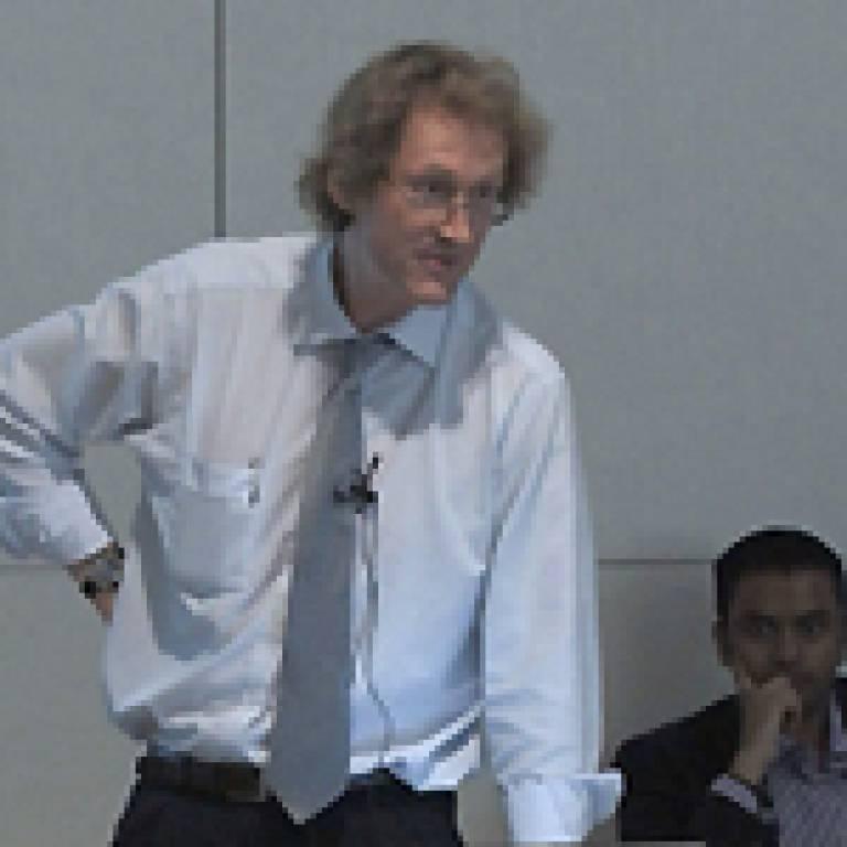Professor Bob Lowe, Complex Built Environment Systems, UCL Bartlett
