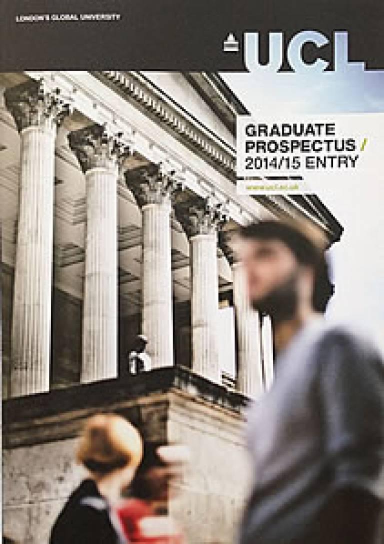 UCL Graduate Prospectus