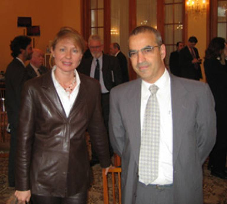 Dr Ledeneva and Dr Bassin in Moscow
