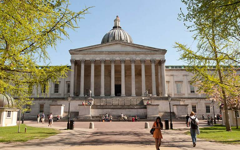 UCL Front Quad and Portico