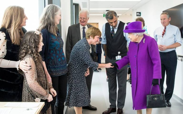 HM The Queen at new UCLH hospital