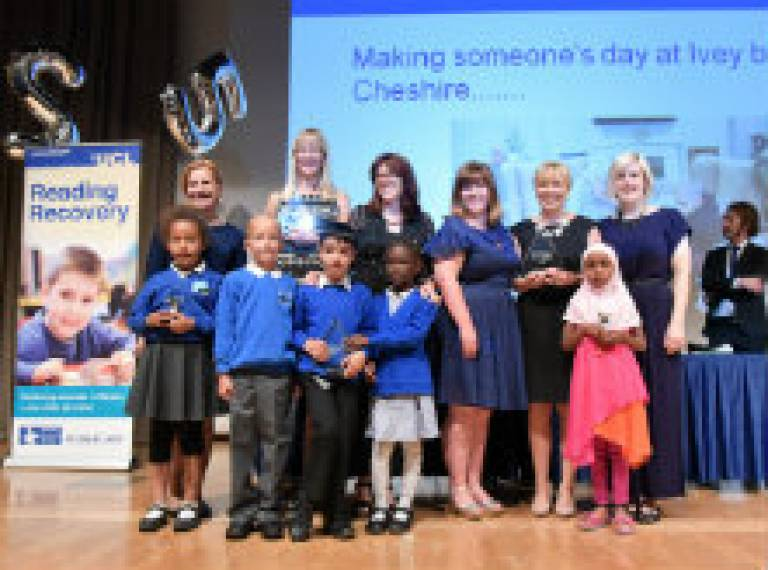 Reading recovery awards