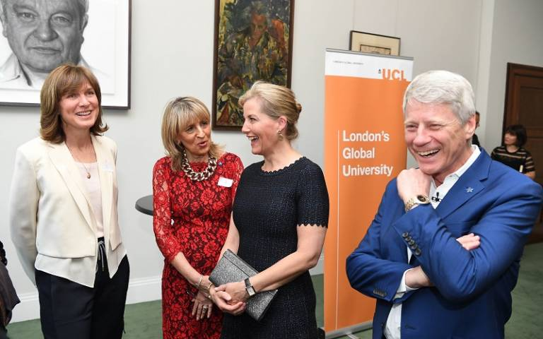 Fiona Bruce, Jane Lush, HRH The Countess of Wessex and Nick Ross