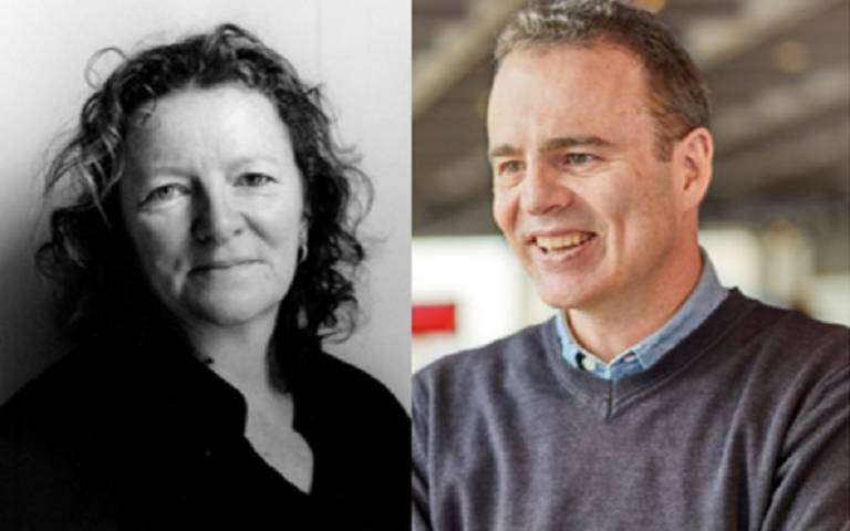 Dame Rachel Whiteread and Dr Shane Legg