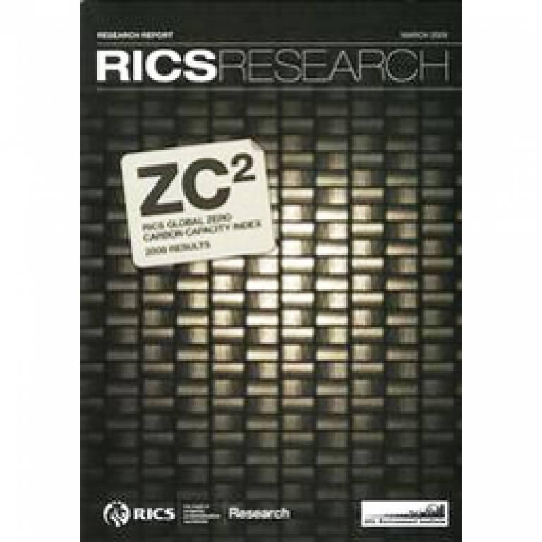 RICS report cover