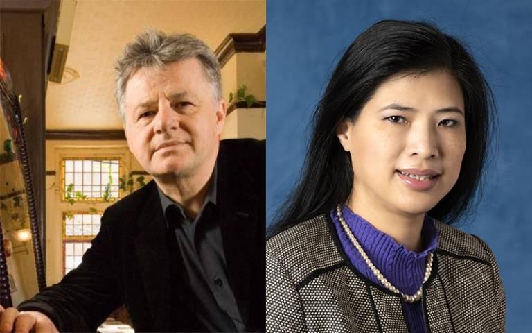Professor Dolan and Professor Thanh
