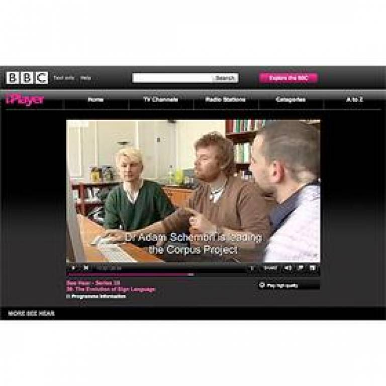 DCAL on BBC's 'See Hear' programme
